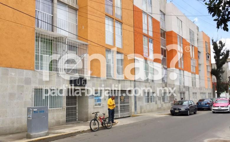 Departamento en renta en Iztacalco