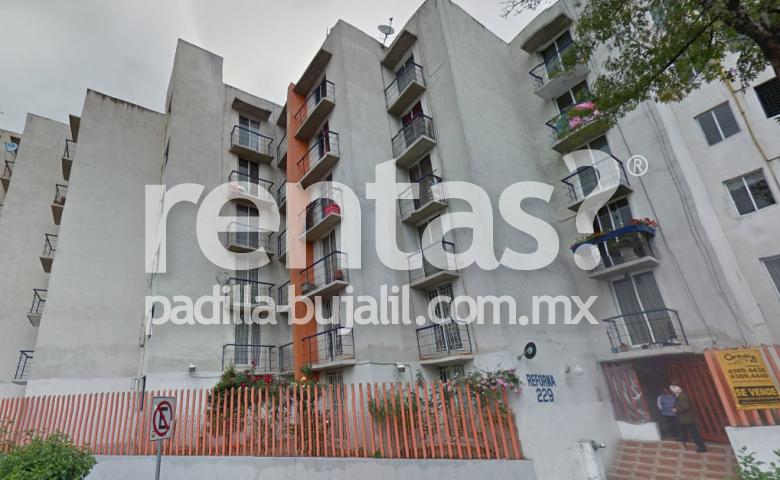 Departamento en renta en la colonia Guerrero
