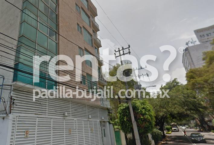 Departamento amueblado en renta en la colonia Acacias Ciudad de México