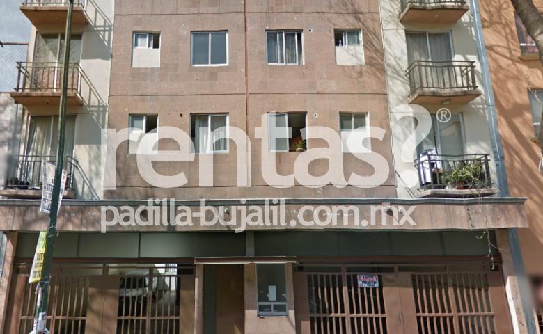 Departamento en renta en la colonia Santa María la Ribera