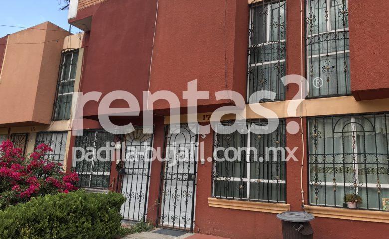 Casa en renta en Los Héroes Coacalco Estado de México