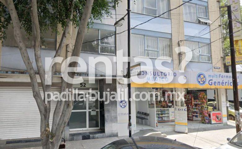 Departamento en renta en Mixcoac