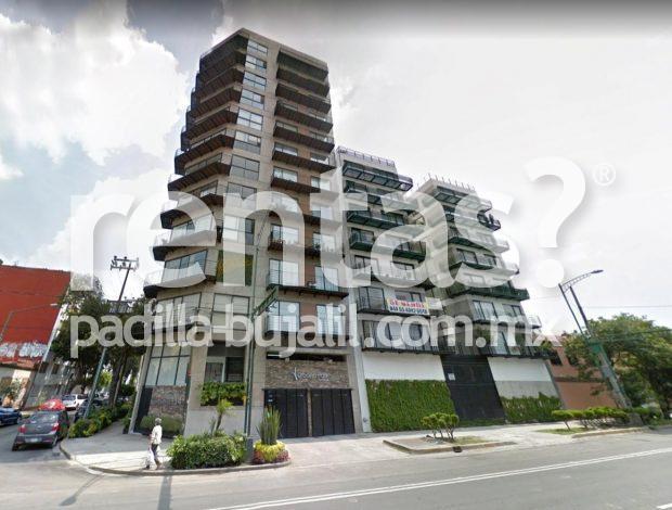 Departamento en renta en la colonia Portales Urbano Park