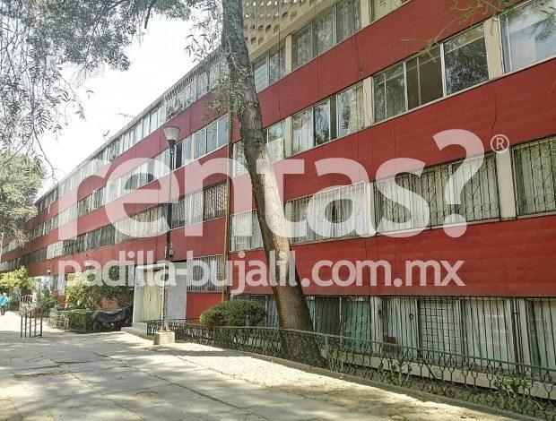Departamento en renta Tlatelolco