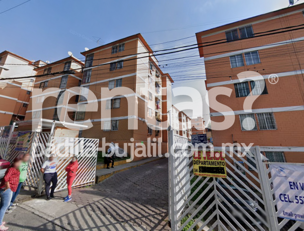 Departamento en renta en San Juan Xalpa