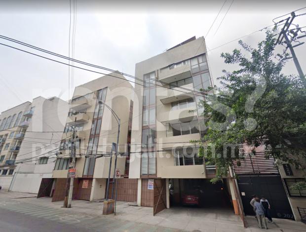 Departamento en renta en Colonia Del Valle